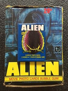 1979 Topps ALIEN Unopened Wax Pack Pulled Fresh From Wax Box. BEST DEAL ON ebay!