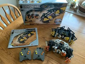 LEGO Technic Bionicle Rahi MANAS #8539 with Manuals, Box, & Controllers - Tested