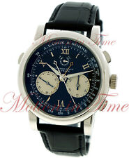 A.Lange & Sohne Double Split Rattrapante Flyback Chrono 43.2mm Platinum 404.035