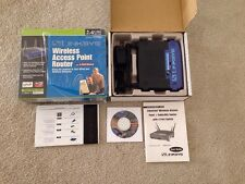LINKSYS 2.4GHz Wireless Access Point Router Model BEFW11S4 w/ Box