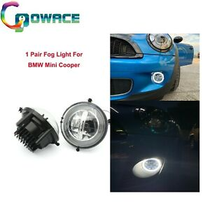 1Pair Fog Light LED Angel eye Lamp  For BMW Mini Cooper R55 R56 R57 R58 R59 R60