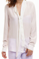 - 0039 - ITALY - Susette Bluse Damen weiß Shirt Business