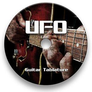 UFO Rock Guitar Tabs Tablature Lesson Software CD - Guitar Pro