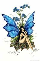 Forget Me Not by Amy Brown Art Print Poster 24x36 inch