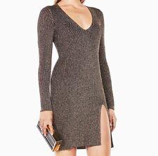 New with tag $228 Bcbg max Azria macki  v neck long sleeve  Dress Sz Xs