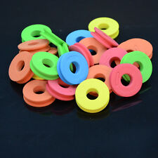 20 Durable Foam Winding Board Fishing Line Spools Tool Bobbin Tackle Accessories