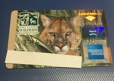 1 Expired Credit Card For Collectors National Wildlife Federation Amex (9118)
