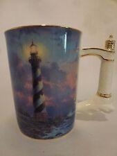 Thomas Kinkade Cape Hatteras Heirloom Porcelain Mug No. A0905, Signed