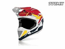 ACERBIS PROFILE 2.0 MOTOCROSS MX ENDURO MTB HELMET RED *MEDIUM*