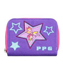 Warner Bros Power Puff Girls Star Purple Girls Zip Wallet/Card & Photo Holder