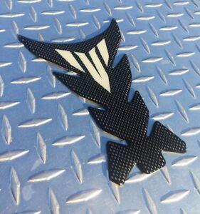 Yamaha MT Logo Real Carbon Tank Pad - MT10 MT09 MT07 MT03 FZ10 FZ09 FZ07 FZ03