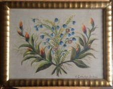 Hans Schulze-Lochau Listed Listed Antique Still Life Frame Art Nouveau Grain