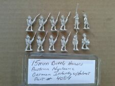 15mm Battle Honors Austrian Napoleonics - German Infantry w/ Helmet