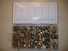 140 PIECE FLANGE NUT ASSORTMENT METRIC WASHER BOLT