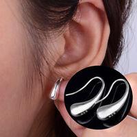 New Fashion Jewelry teardrop hook Silver Plated hoop earrings Hot Sale