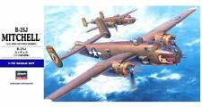 B-25 J MITCHELL - WW II BOMBER (USAAF MARKINGS) #E16 1/72 HASEGAWA