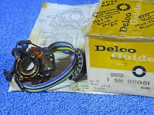 """1964-1966 Buick Chevy Oldsmobile """"A"""" Body Turn Signal Switch NOS"""