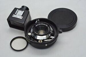 [NEAR MINT- w/ Finder] Mamiya Sekor 65mm f/6.3 Lens For Mamiya Press From JAPAN