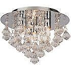 Argos Chrome 1-3 Ceiling Lights & Chandeliers
