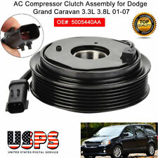 AC A/C Compressor Clutch Pulley Coil for Dodge Grand Caravan 3.3L 3.8L 2001-2007