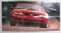 1999 Ford MUSTANG POSTER Brochure with GT / CONVERTIBLE...............NEW!
