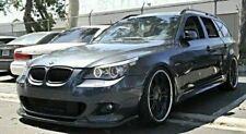 BMW 5 E60 E61 M TECH M SPORT M PAKET  FRONT BUMPER SPOILER DIFFUSOR