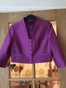 Hobbs Silk / Wool Mix Jacket Size 12