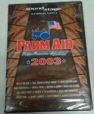 FARM AID 2003 Willie Nelson Neil Young Dave Matthews John Mellencamp 2 DVD