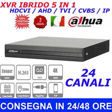 DAHUA NVR DVR XVR 1B16H 4K 8MP HDCVI AHD TVI CVBS IP HDMI ONVIF P2P  24 CANALI