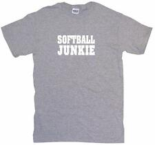 Softball Junkie Mens Tee Shirt Pick Size Color Small-6XL