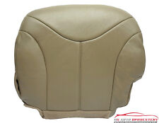 2000 2001 GMC Sierra 1500HD 2500HD SLT Driver Side Bottom LEATHER Seat Cover TAN