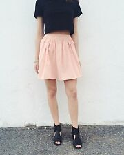 American Apparel Pink Skirt - Size (XS)