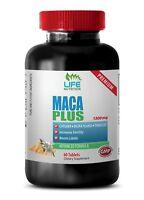 testosterone booster daa - MACA PLUS 1300MG 1B - red maca tablets us
