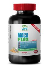 muscle vizion - MACA PLUS 1300MG 1B - red maca powder organic raw
