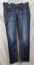 vigoss collection junior womans jeans blue size 9 studded flaw