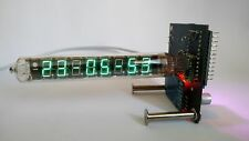 ASSEMBLED IV-18 VFD CLOCK WATCH || WITH TUBE || RETRO DESK GIFT USSR HANDMADE