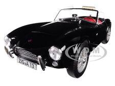 1963 SHELBY AC COBRA 289 ROADSTER BLACK 1/18 DIECAST MODEL CAR BY NOREV 182754
