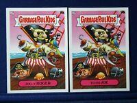 2020 Garbage Pail Kids 35th GPK #14 A-B Jolly ROGER - Yo Ho JOE LOT