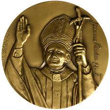 Medaglia Giovanni Paolo II° Visita Santuario di Fatima #KG322