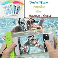 Underwater IPX8 Certified Waterproof Dry Case Bag Pouch For Huawei Mobile Phones