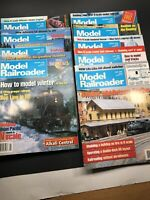 Model Railroader Magazine Lot 9 Issues 1996 Model Trains Hobby Layouts