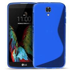 Phone Cover LG x Screen Silicone Case Case Slim TPU Case Backcover Blue