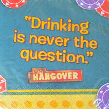 HANGOVER LUNCH NAPKINS (16) ~ Adult Birthday Party Supplies Serviettes Dinner