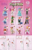 Playmobil 5204 Figuren Figures Serie 1 Girls - neuwertig
