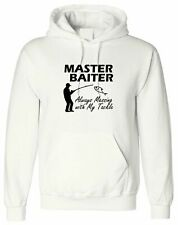 Master Baiter Always Messing With My Tackle, Personalised Hoodie Men Top Design