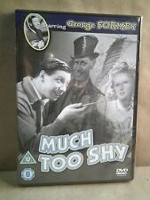 Much Too Shy - George Formby - UK DVD- New/Sealed