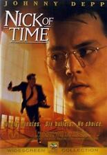 NICK OF TIME Johnny Depp (DVD, 2003) NEW