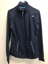 Tangerine Women's Jacket Athletic Full Zip Top Blue Colors Size Small