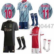 2020/21 Football Club Kids Full Kits Boys & Adult Soccer Jersey Training Suits
