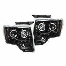 RECON 264190BKCC Ford F150 - Raptor 09-14 Clear-Smoked Headlights Projector